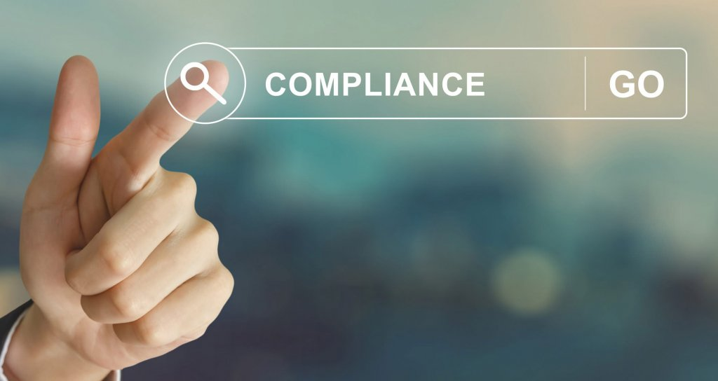 compliance selected on screen