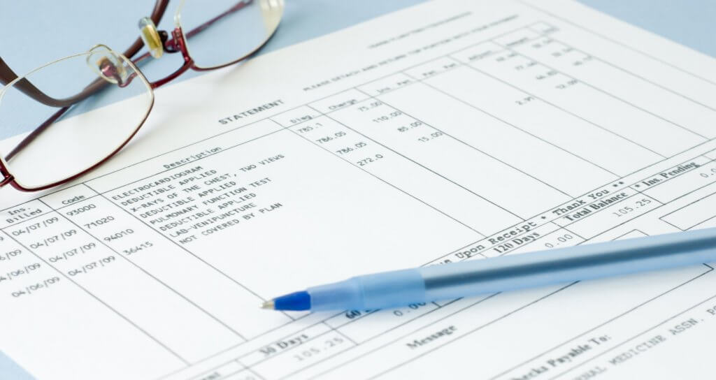 medical bill for FSA claims